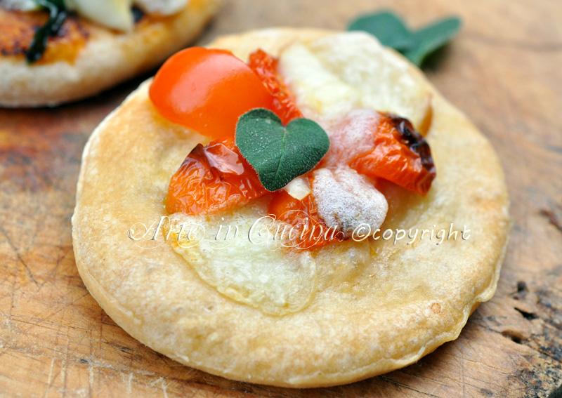 Pizzette soffici al pomodoro per feste e buffet ricetta congelabile vickyart arte in cucina