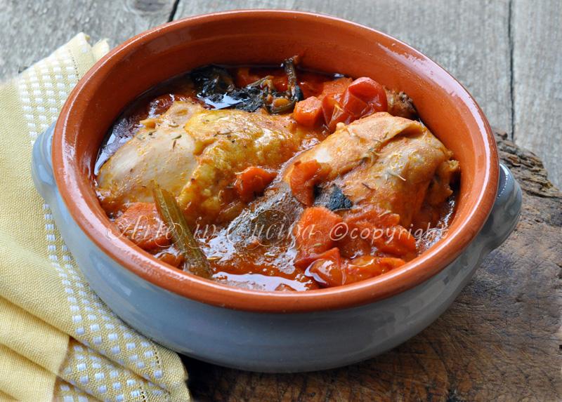 Pollo in umido ricetta facile e veloce vickyart arte in cucina