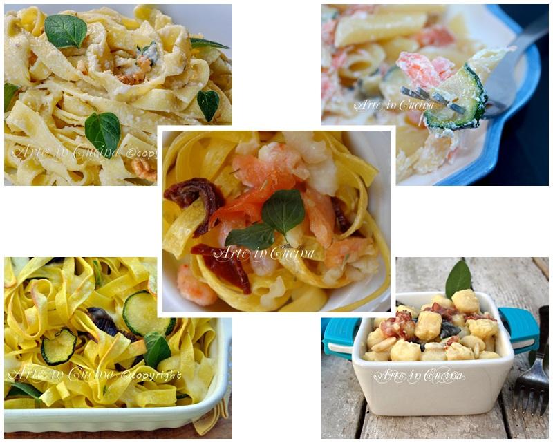 Primi piatti veloci e sfiziosi arte in cucina for Ricette primi piatti veloci bimby