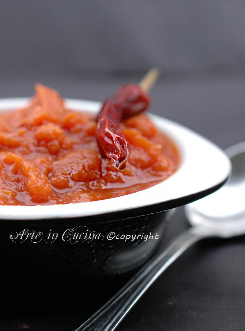 Salsa piccante fatta in casa ricetta salsa rossa veloce vicky arte arte in cucina