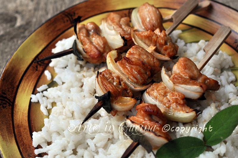 Spiedini di pollo al forno ricetta facile e veloce arte in cucina giallozafferano
