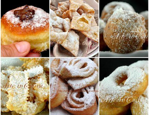 Dolci di carnevale ricette in pdf