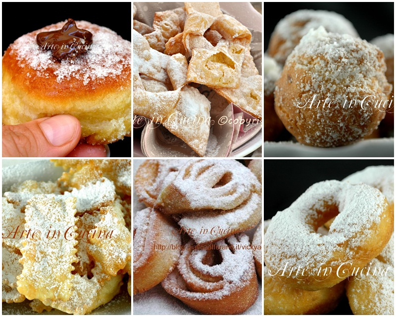Dolci di carnevale ricette in pdf facili e golose for Ricette dolci di carnevale