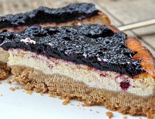 Cheesecake al forno ricetta con ricotta e marmellata