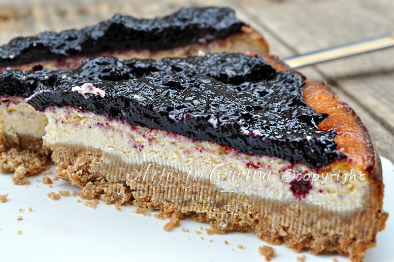 Cheesecake al forno ricetta con ricotta e marmellata arte in cucina