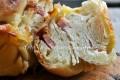 Ciambella di pan brioche farcita ricetta rustico ripieno
