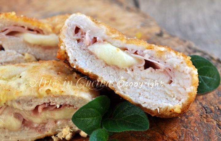 Cordon bleu di pollo al forno o fritti