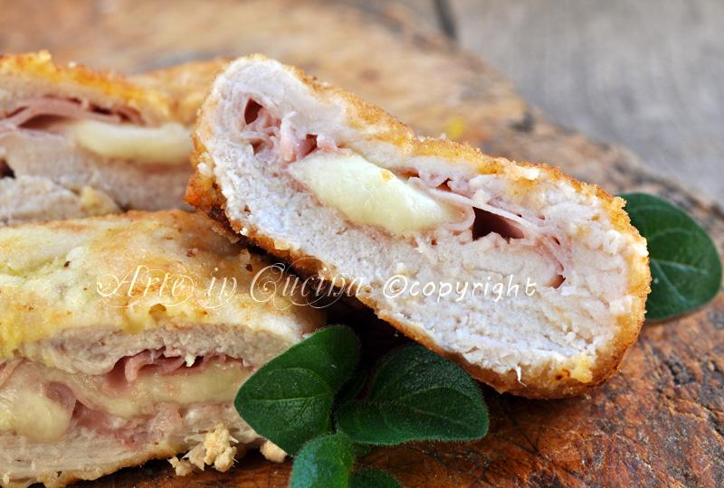 Cordon bleu di pollo al forno o fritti ricetta arte in cucina