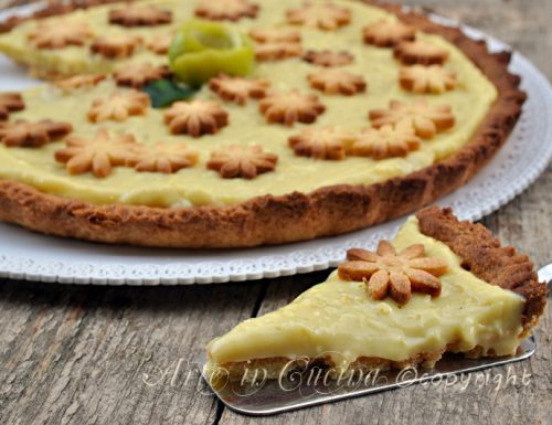 Crostata al limone e lime con bimby o senza