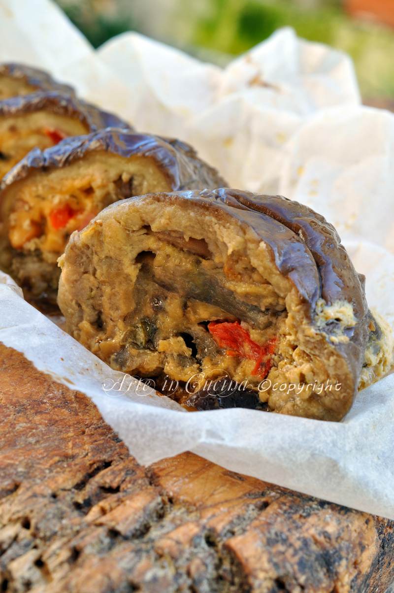 Melanzane al forno ripiene ricetta economica vickyart arte in cucina