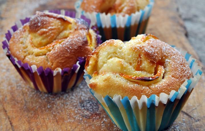 Muffin all arancia ricetta dolce veloce