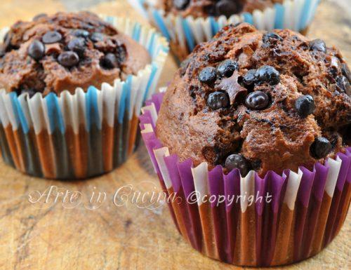 Muffin al cioccolato e nutella con bimby o senza