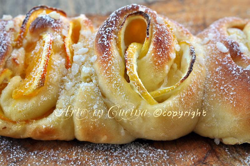 Plumcake dolce lievitato con arancia e limone ricetta arte in cucina
