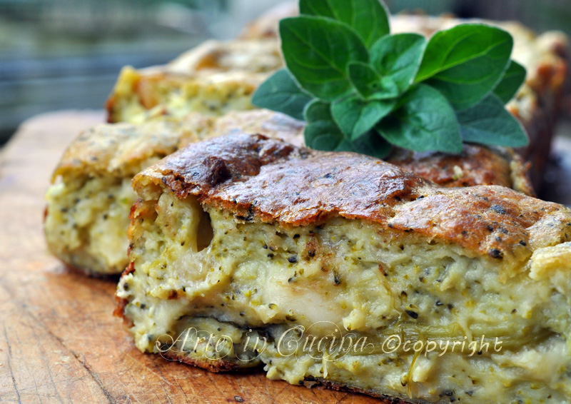 Plumcake salato con broccoli ricetta veloce vickyart arte in cucina