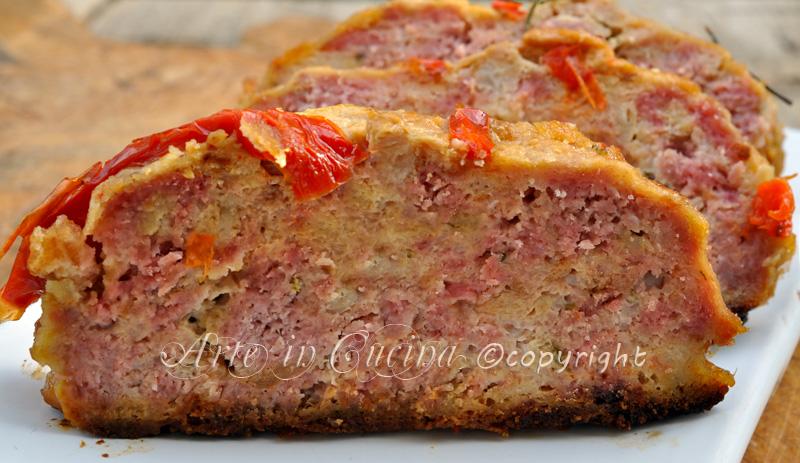 Polpettone di carne macinata al forno for Cucina italiana ricette carne