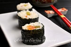 Sushi maki fatto in casa