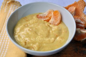 Crema al mandarino con bimby o senza ricetta facile