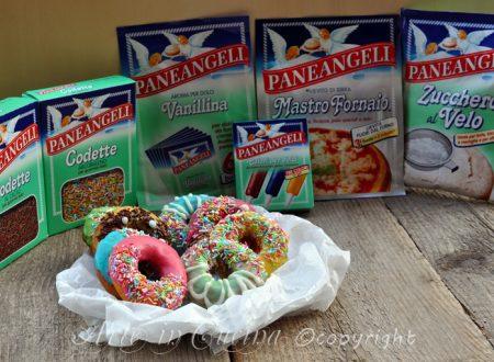 Donuts ciambelle di homer glassate