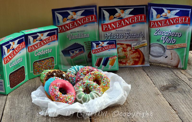 Donuts ciambelle di homer glassate vickyart arte in cucina