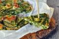Frittata con asparagi al forno