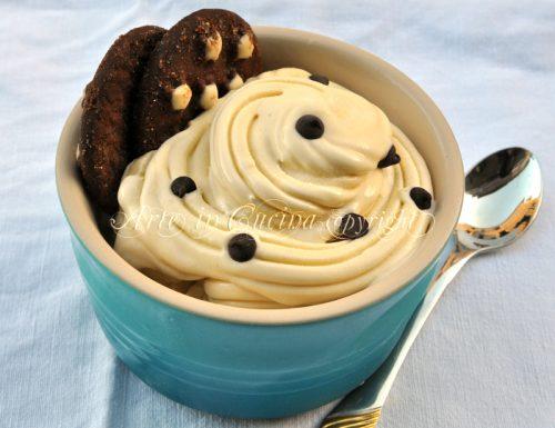 Gelato al tiramisu con o senza gelatiera