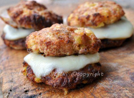 Hamburgher di tacchino con patate