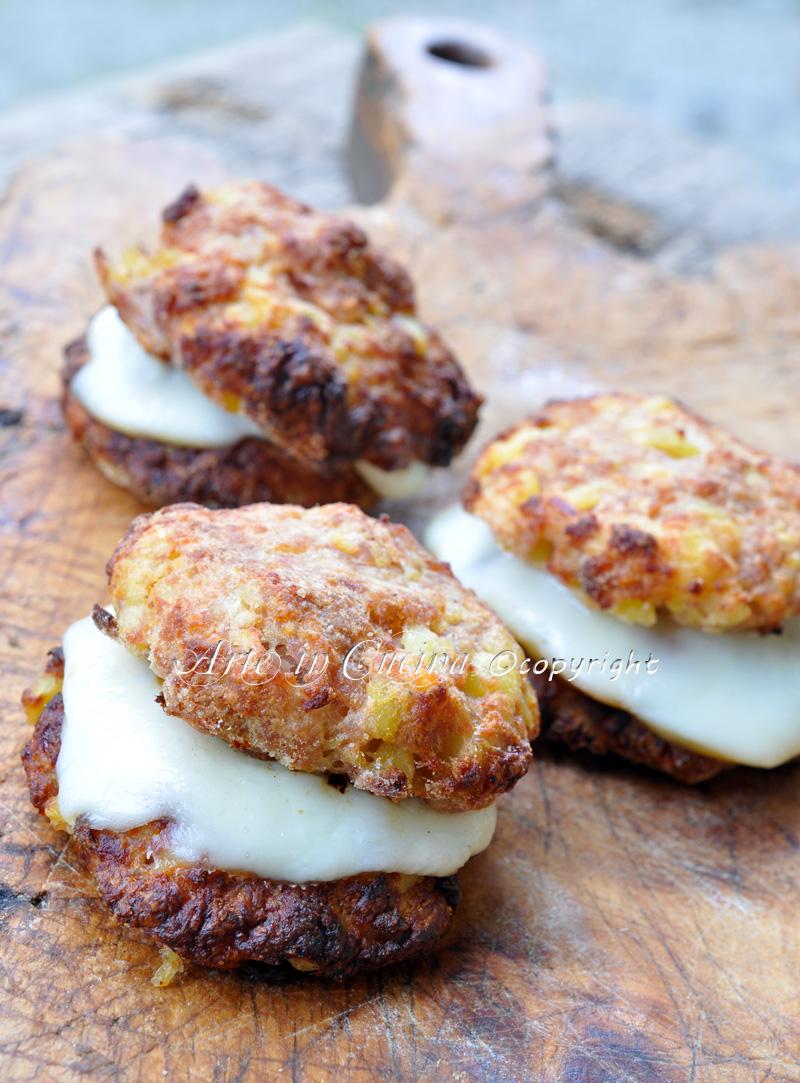 Hamburgher di tacchino con patate ricetta vickyart arte in cucina