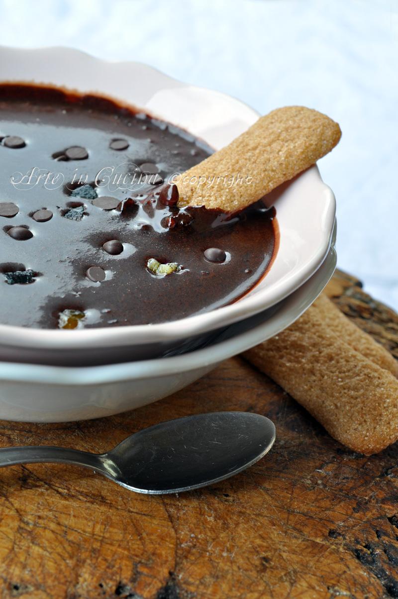 Sanguinaccio di cioccolato con bimby o senza ricetta arte in cucina