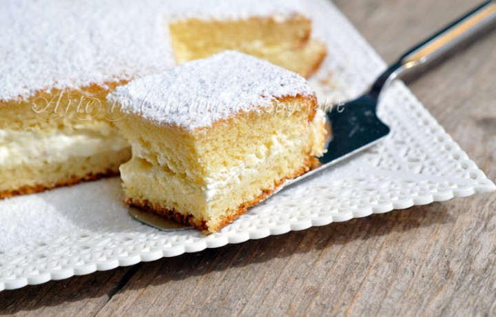 Torta al limone con crema di limone