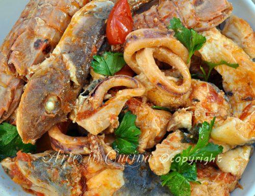 Zuppa di pesce ricetta facile