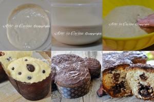 Colomba alla nutella e cioccolato