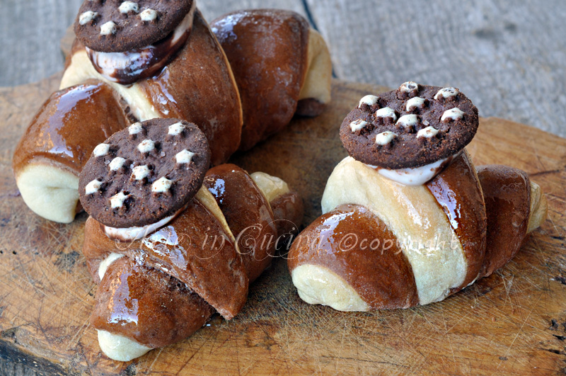 Cornetti pan di stelle ricetta facile arte in cucina