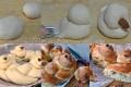 Corona di pan brioche per  Pasqua