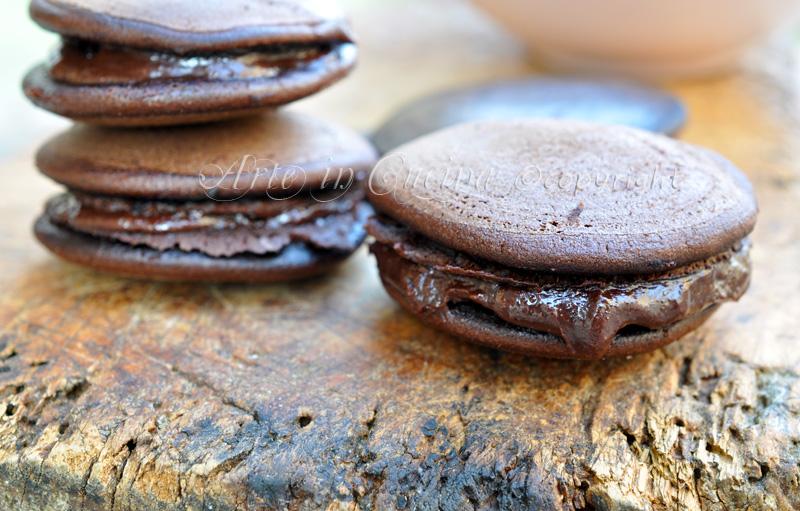 Dolci morbidi al cioccolato dorayaki giapponesi ricetta arte in cucina