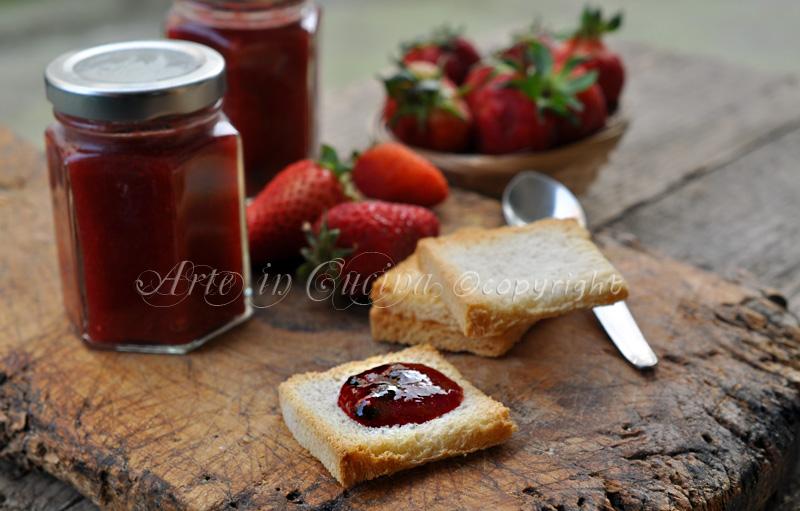 Marmellata di fragole con bimby o senza ricetta arte in cucina
