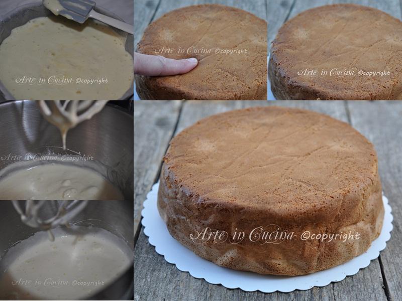 pan di spagna ricetta base arte in cucina