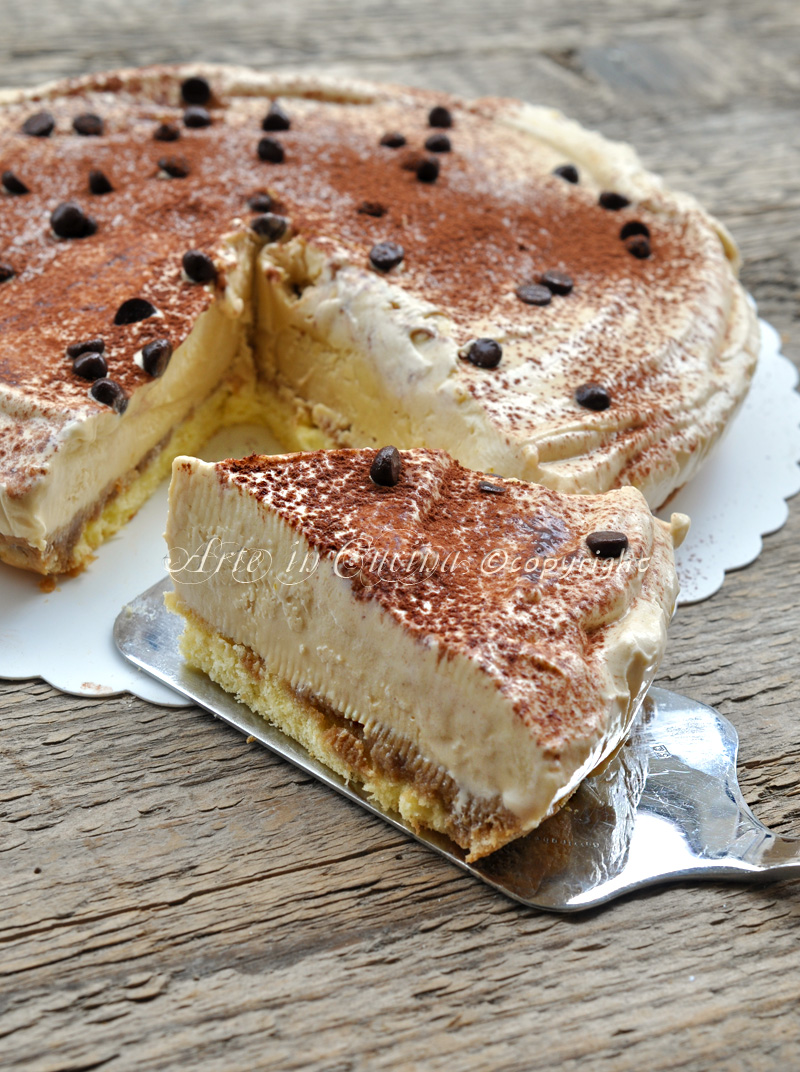 Semifreddo al tiramisu dolce al caffe arte in cucina for Cucina dolce