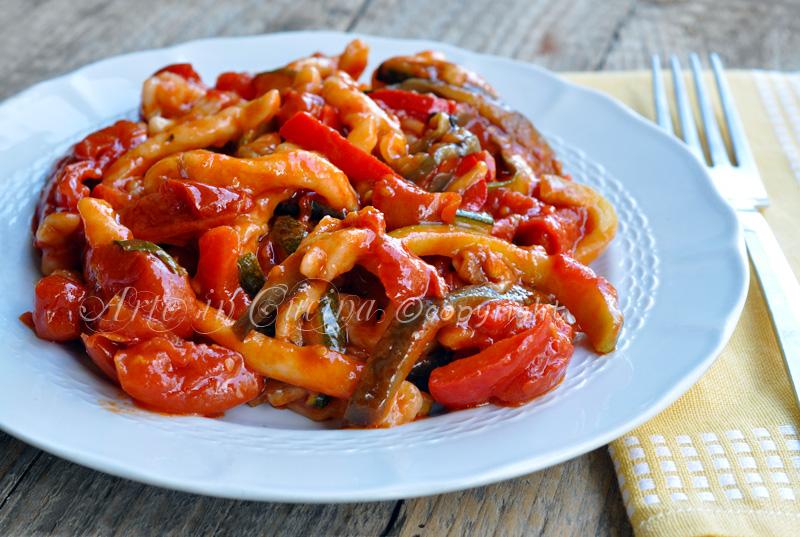 Strozzapreti alle verdure ricetta arte in cucina