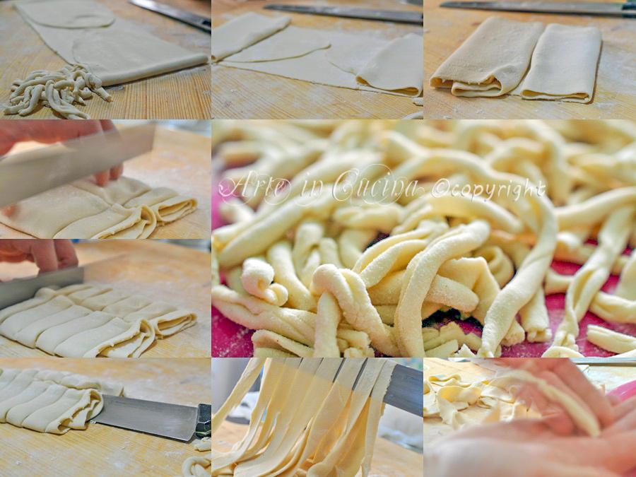 Strozzapreti emiliani fatti in casa ricetta arte in cucina