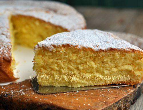 Torta margherita senza burro ricetta veloce