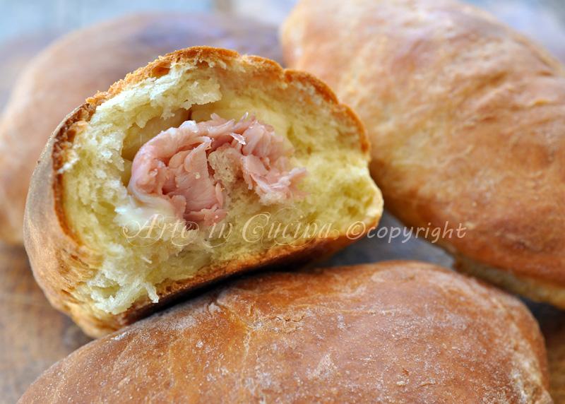 Calzoni siciliani ricetta rosticceria vickyart arte in cucina
