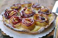 Crostata con rose di mele