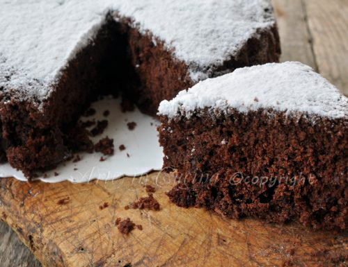 Molly cake al cioccolato torta alla panna