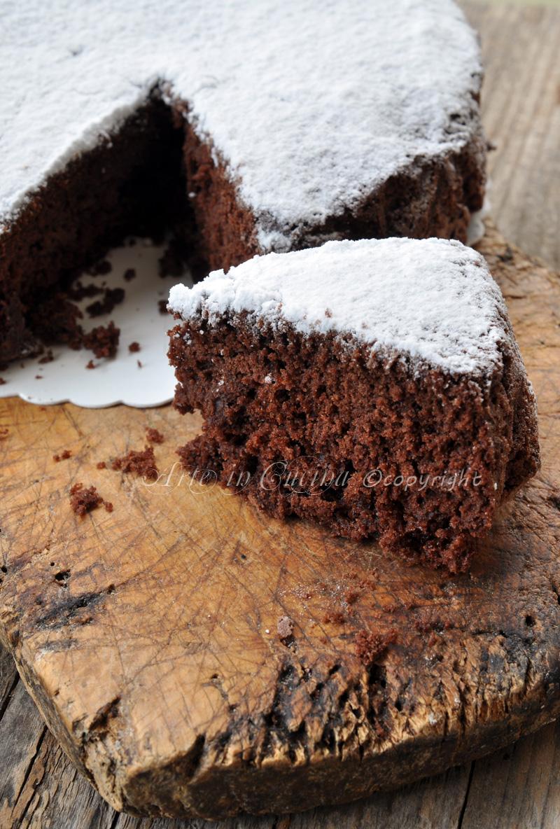 Molly cake al cioccolato torta alla panna vickyart