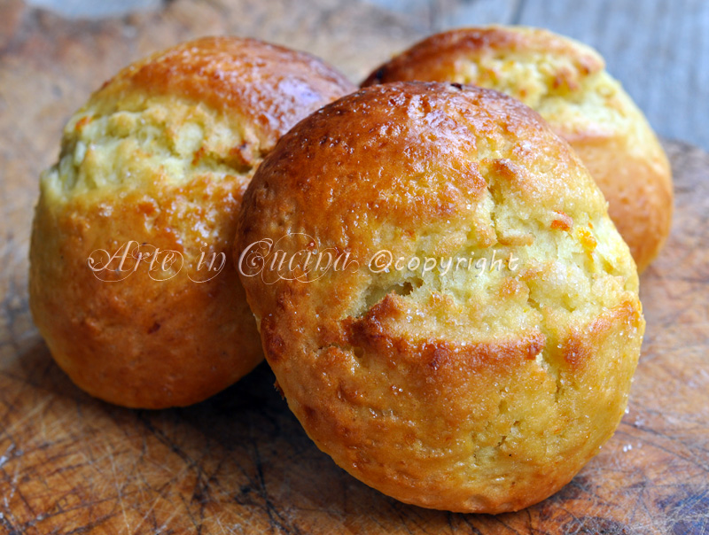 Panini al limone ricetta dolce arte in cucina