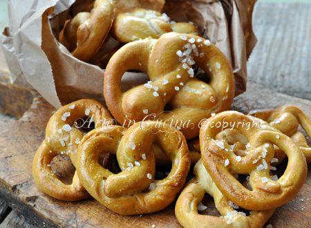 Bretzel o pretzel ricetta senza soda caustica