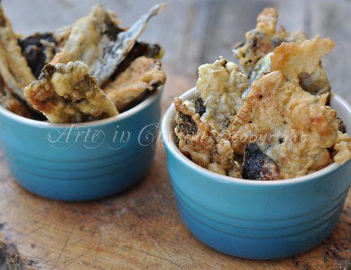 Pizzette di alghe in tempura