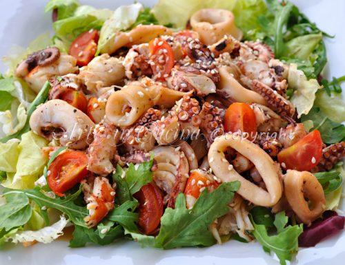 Insalata di mare ricetta semplice saporita