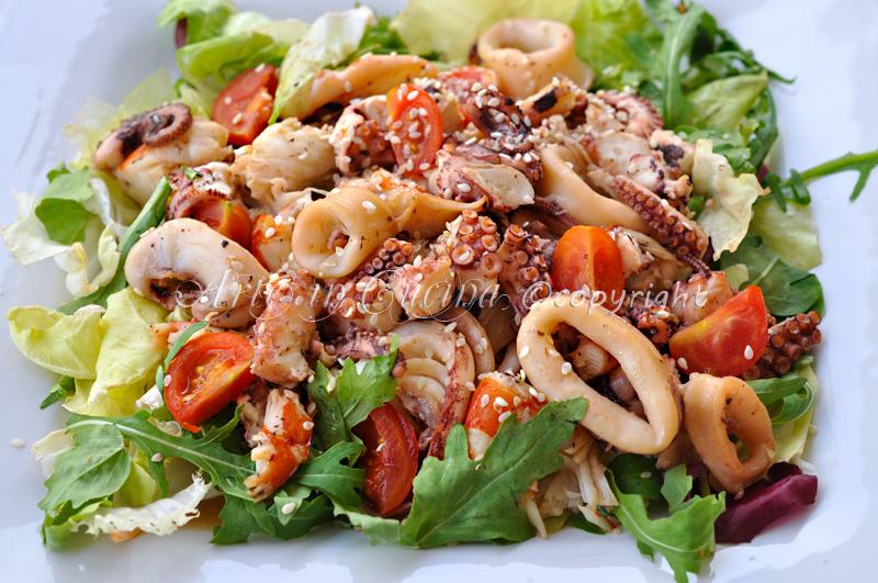 Insalata di mare ricetta semplice saporita | Arte in Cucina
