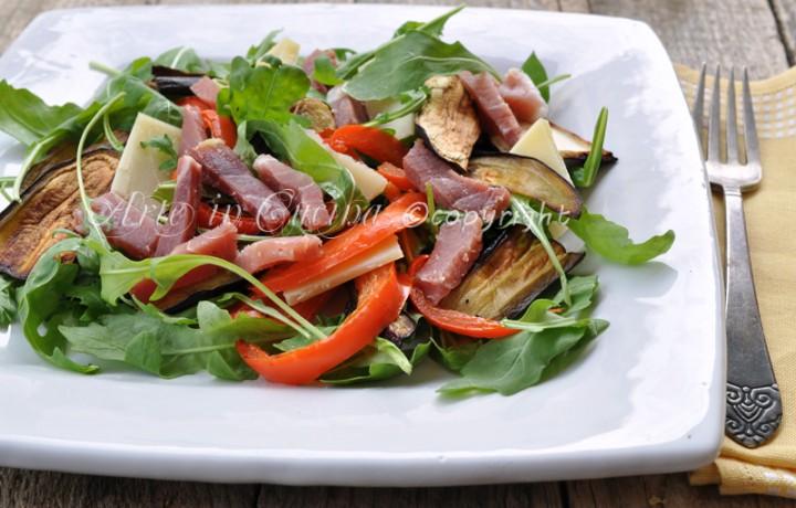 Insalata spagnola ricetta facile saporita